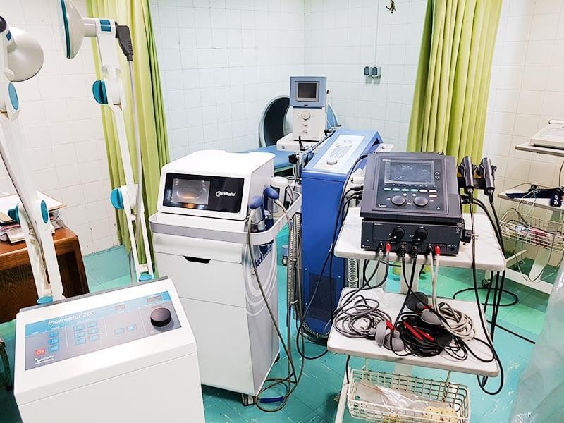 فیزیوتراپی درمانگاه خیریه مهینیه